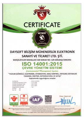 Daysoft-Quality-Documents14001